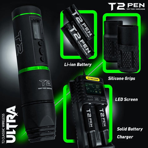 T2 Classic Wireless Ultra Tattoo Pen