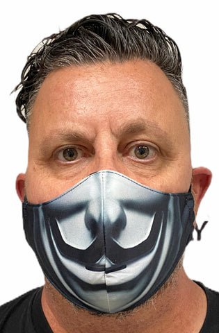 Fashion Mask - V with PU-2 Pollution Filter