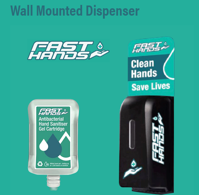 Fast Hands - Wall Mountable Automatic Gel Dispenser