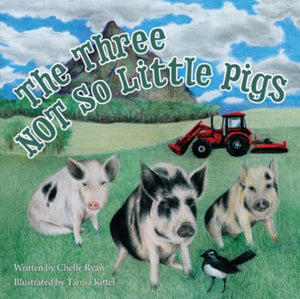 """The Three NOT So Little Pigs"" - Childrens book"