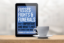 Load image into Gallery viewer, Fusses Fights & Funerals - Kindle Edition