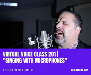 Virtual Class 201 | Singing with Microphones