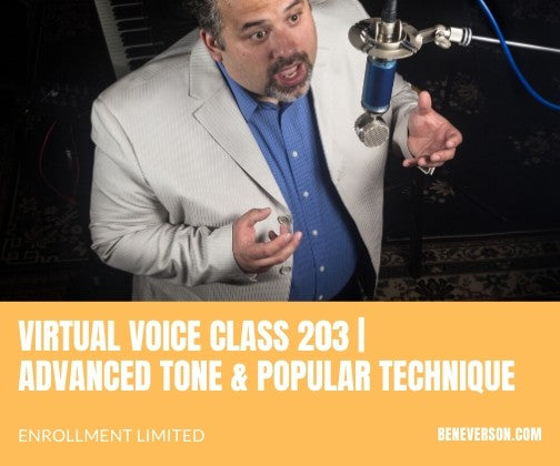 Virtual Class 203 | Advanced Tone & Popular Technique
