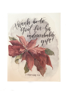 God's Indescribable Gift!