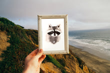 Load image into Gallery viewer, Raccoon Print