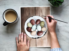 Load image into Gallery viewer, Fresh Farm Eggs Print