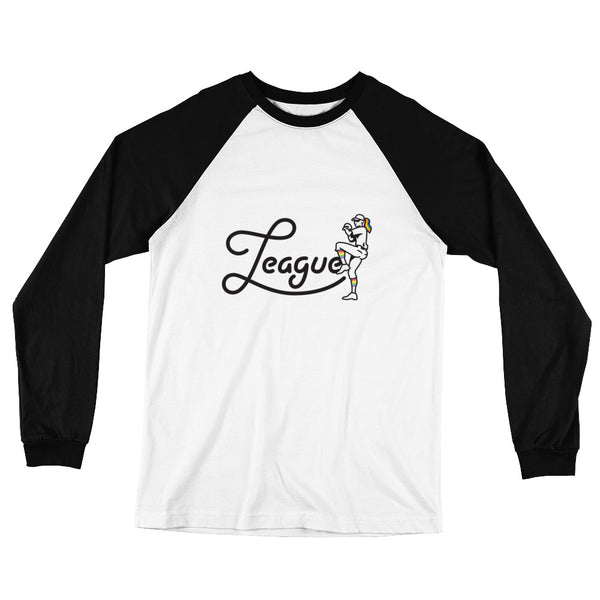 A League of Her Own Long Sleeve Baseball T-Shirt