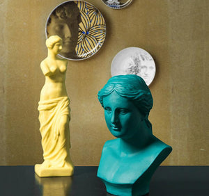 Venus Ceramic sculpture, home decor - tacithome