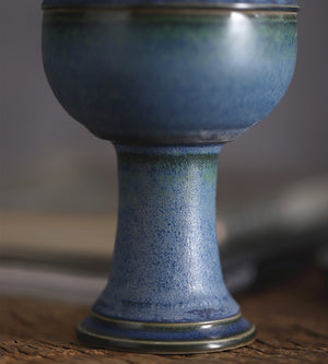 古檀 - Zen oriental handmade ceramics antique censer