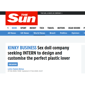 Our internship program  featured by the Sun newspaper