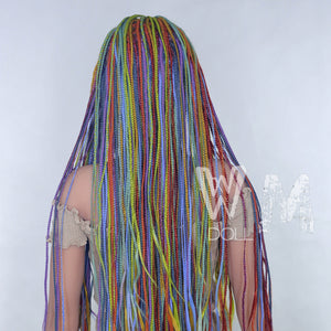 WM - Rainbow Braids