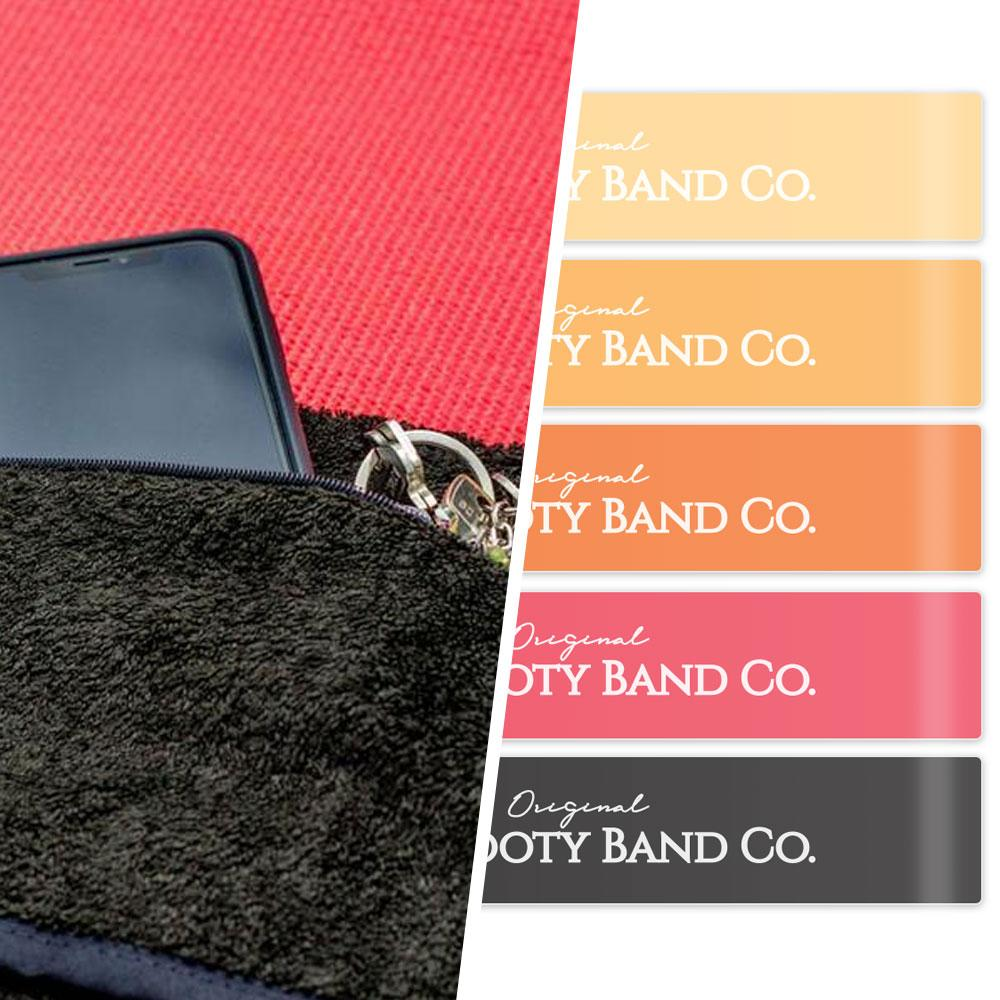 Booty Bands & Gym Towel Bundle (Resistance Bands) - Booty Band Co