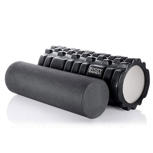 Foam Roller (2-in-1) + Carry Bag (Accessories) - Booty Band Co
