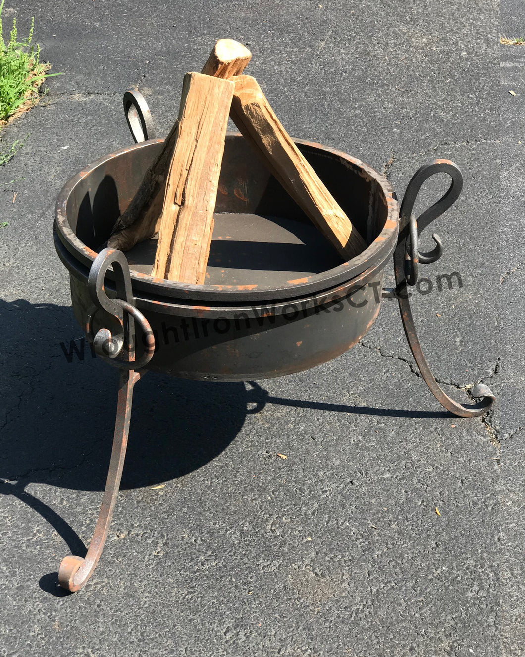 Wrought Iron Fire Bowl 17