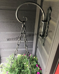 Wrought Iron Swivel Hook