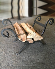 Wrought Iron Firewood Rack