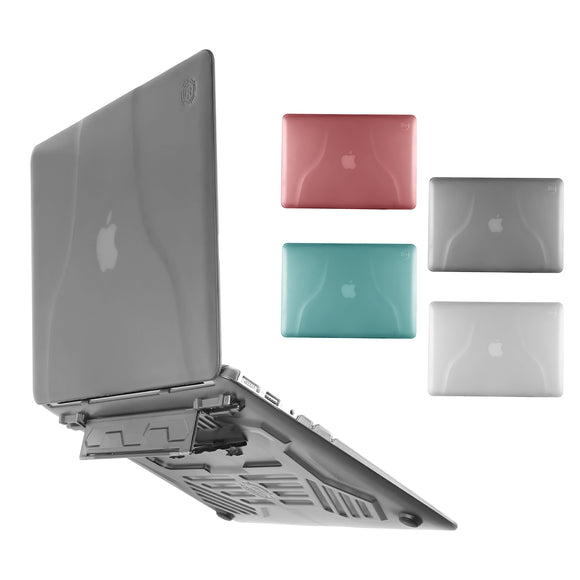 Portable Hard Laptop Case with Portable Stand / Bracket For MacBook Air 13 inch 13'' Accessories For A1466 / A1369