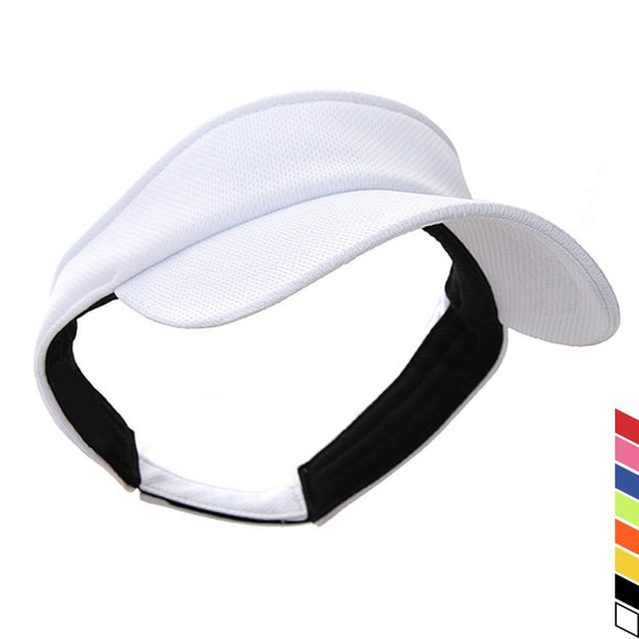 Sun Visors Thicker Sweatband Adjustable Hats Caps for Cycling Fishing Tennis Running Jogging Accept Customized