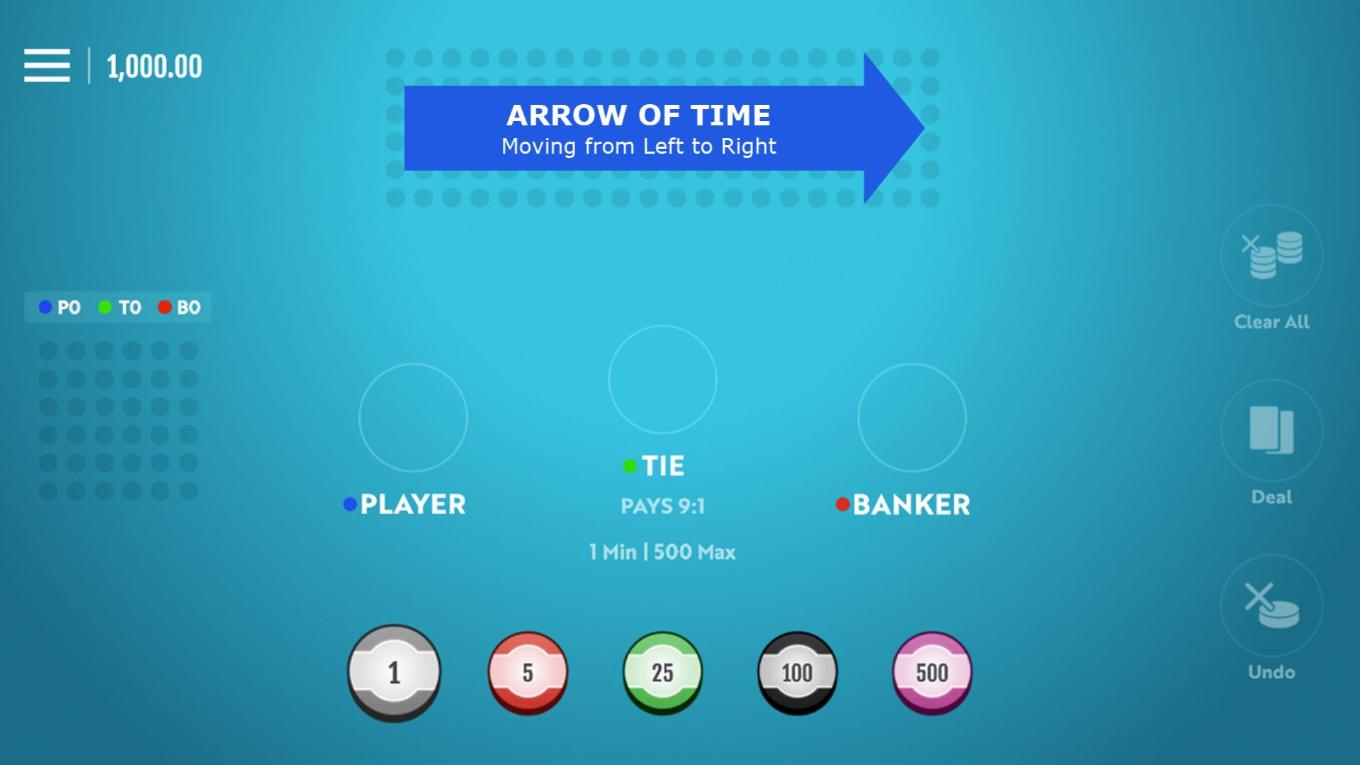 AI BANKROLL - Arrow of Time