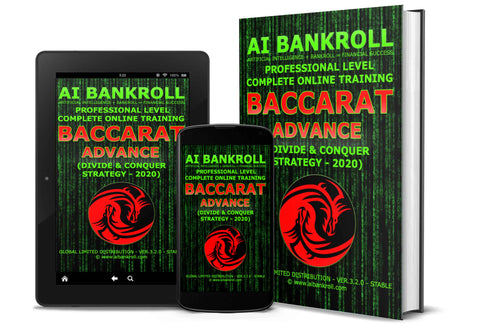 Baccarat Advance (Divide & Conquer) Strategy 2020