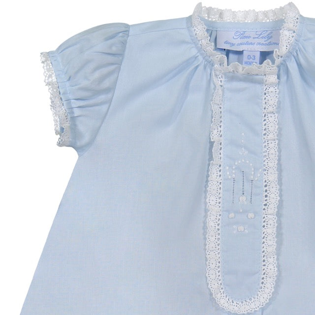 Blue Lace Daygown