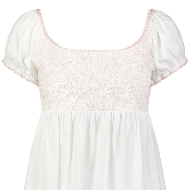 Smocked Short Nightie