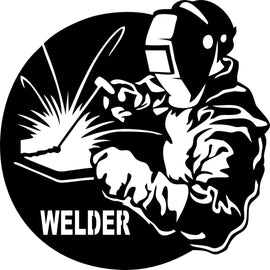 WELDER DXF of PLASMA ROUTER LASER  Cut -CNC Vector DXF-CDR-AI-JPEG V22