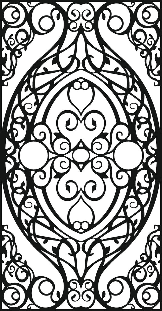 DXF of plasma Laser router Cut -CNC Vector DXF-CDR AI JPEG  PANEL A126