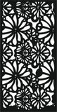 DXF design  plasma Laser router Cut -CNC Vector DXF-CDR AI JPEG  PANEL A168