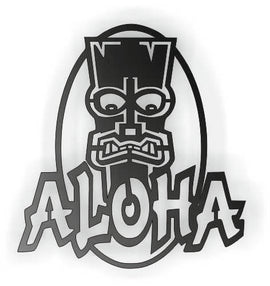 ALOHA DXF of PLASMA ROUTER LASER  Cut -CNC Vector DXF-CDR-AI-JPEG