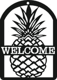 PINEAPPLE DXF of PLASMA ROUTER LASER  Cut -CNC Vector DXF-CDR-AI-JPEG