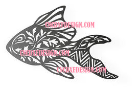 ART FISH  DXF of PLASMA ROUTER LASER  Cut -CNC Vector DXF-CDR-AI-JPEG