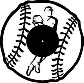 BASEBALL CLOCK DXF of PLASMA ROUTER LASER  Cut -CNC Vector SVG-DXF-CDR-AI-JPEG