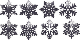 STAR CHRISTMAS DXF of PLASMA ROUTER LASER  Cut -CNC Vector DXF-CDR-AI-JPEG