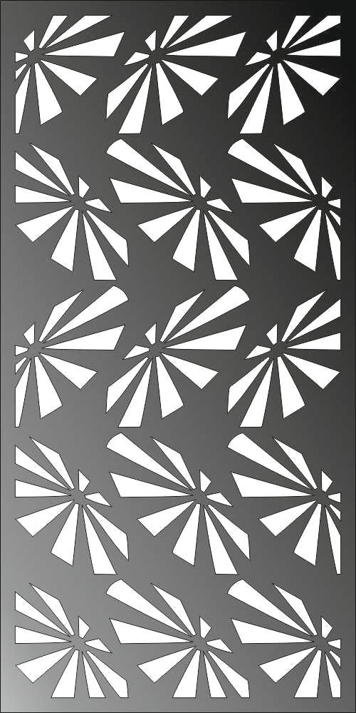 PANEL design  plasma Laser router Cut -CNC Vector DXF-CDR AI JPEG C11