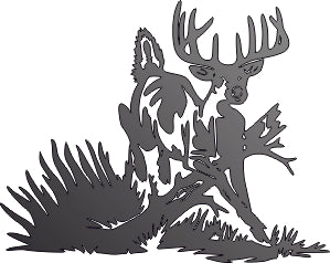 DEER FOREST DXF of PLASMA ROUTER LASER  Cut -CNC Vector DXF-CDR-AI-JPEG