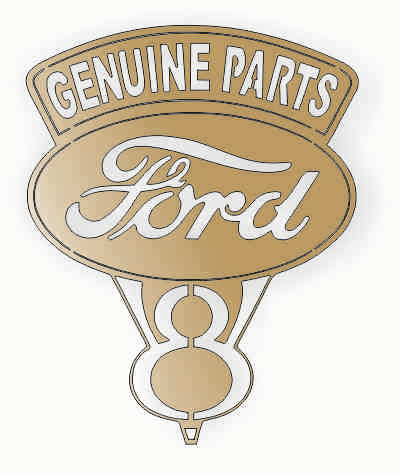 FORD GENUINE PARTS DXF of PLASMA ROUTER LASER  Cut -CNC Vector DXF-CDR-AI-JPEG