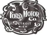 FORD MOTOR SIGN DXF of PLASMA ROUTER LASER  Cut -CNC Vector DXF-CDR-AI-JPEG