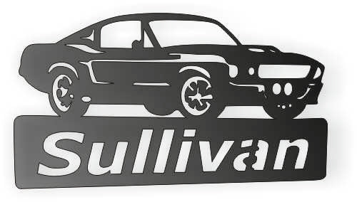 FORD SULLIVAN DXF of PLASMA ROUTER LASER  Cut -CNC Vector DXF-CDR-AI-JPEG