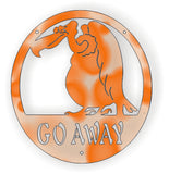 GO AWAY DXF of PLASMA ROUTER LASER  Cut -CNC Vector DXF-CDR-AI-JPEG