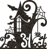 HALLOWEEN  PACK DESIGN DXF FOR PLASMA ROUTER LASER  Cut -CNC Vector DXF-CDR-AI-JPEG
