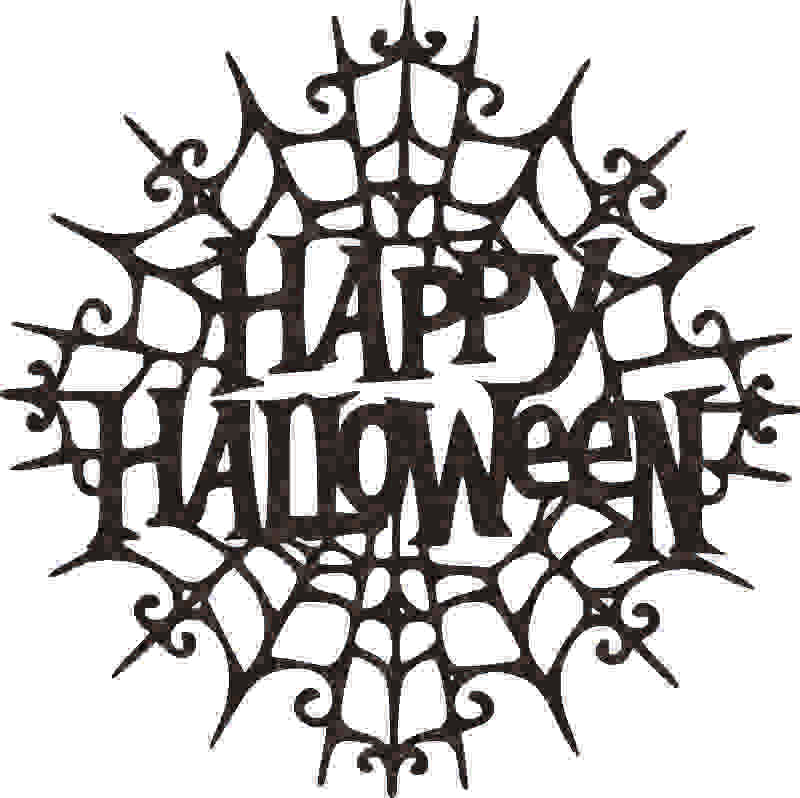 HALLOWEEN  DXF of PLASMA ROUTER LASER  Cut -CNC Vector DXF-CDR-AI-JPEG