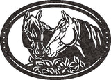 HORSE DXF of PLASMA ROUTER LASER  Cut -CNC Vector DXF-SVG-CDR-AI-JPEG