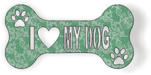 I LOVE MY DOG DXF of PLASMA ROUTER LASER  Cut -CNC Vector DXF-CDR-AI-JPEG