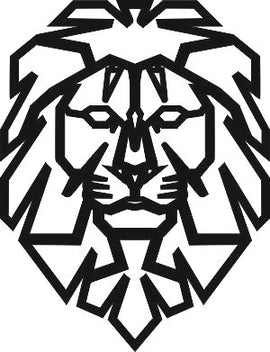LION SVG-DXF of PLASMA ROUTER LASER  Cut -CNC Vector DXF-CDR-AI-JPEG