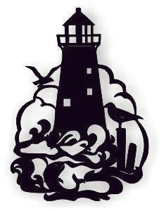LIGHT HOUSE DXF of PLASMA ROUTER LASER  Cut -CNC Vector DXF-CDR-AI-JPEG