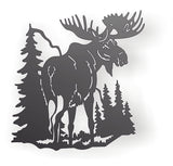 MOOSE DXF of PLASMA ROUTER LASER  Cut -CNC Vector DXF-CDR-AI-JPEG