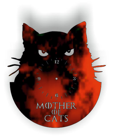 MOTHER OF CATS DXF of PLASMA ROUTER LASER  Cut -CNC Vector DXF-CDR-AI-JPEG