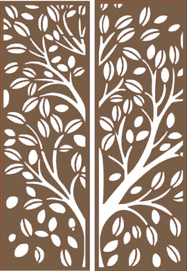 PANEL SCREEN DXF design  plasma Laser router Cut -CNC Vector DXF-CDR AI JPEG  N254