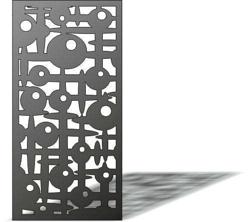 PANEL SCREEN design cnc plasma Laser router Cut -CNC Vector DXF-CDR AI JPEG  PANEL N279